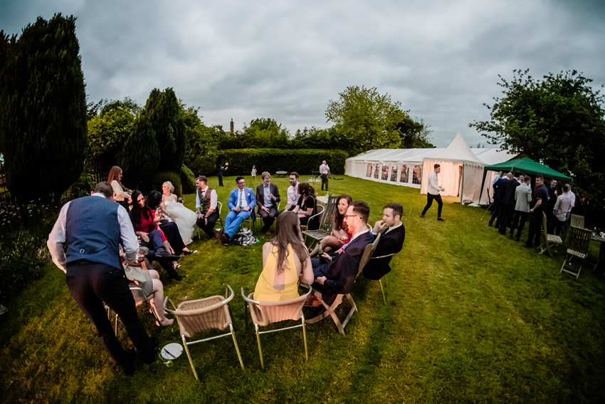 Marquee weddings at Worsley Arms Hotel