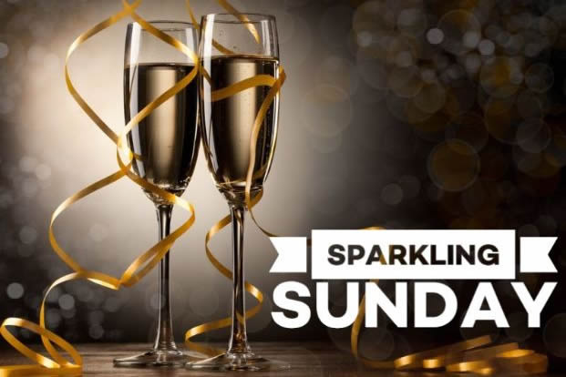 Sunday Sparkle Dinner, B&B Offer